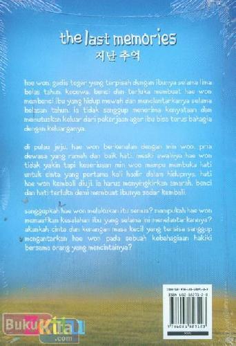 Cover Belakang Buku The Last Memories