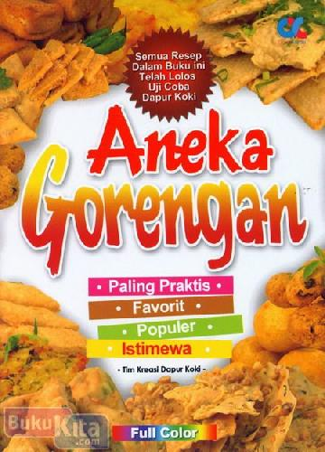 Cover Buku Aneka Gorengan (Full Color)
