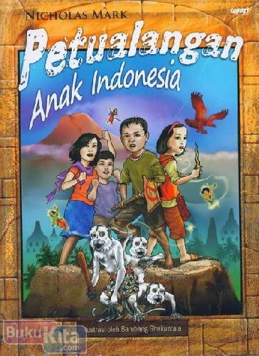 Cover Buku Petualangan Anak Indonesia