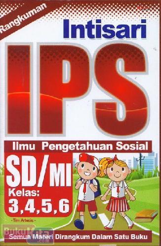 Cover Buku Rangkuman Intisari IPS SD/MI Kelas 3,4,5,6