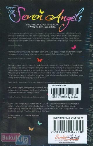 Cover Belakang Buku The Seven Angels : Perjuangan & Pertaubatan 7 Wanita Penjaja Cinta