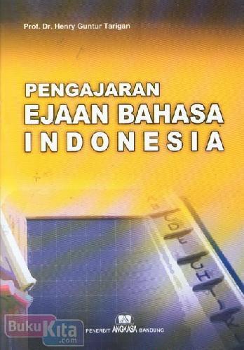 Cover Buku Pengajaran Ejaan Bahasa Indonesia