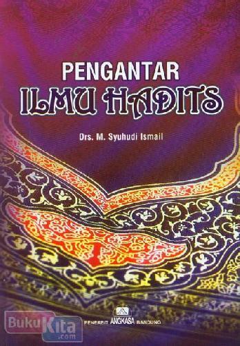 Cover Buku Pengantar Ilmu Hadits
