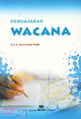 Cover Buku Pengajaran Wacana