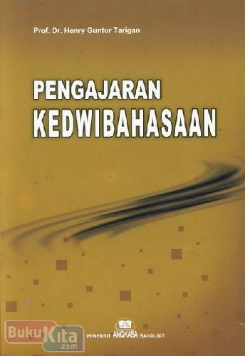 Cover Buku Pengajaran Kedwibahasaan