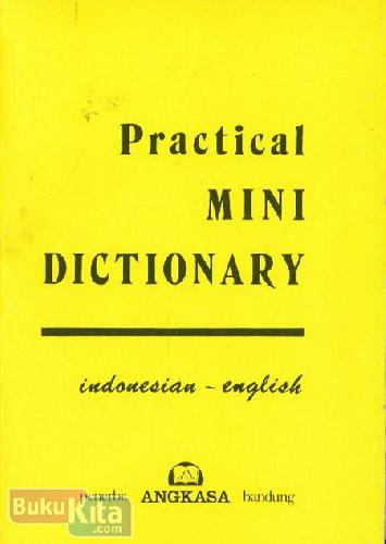 Cover Practical Mini Dictionary Indonesia - English