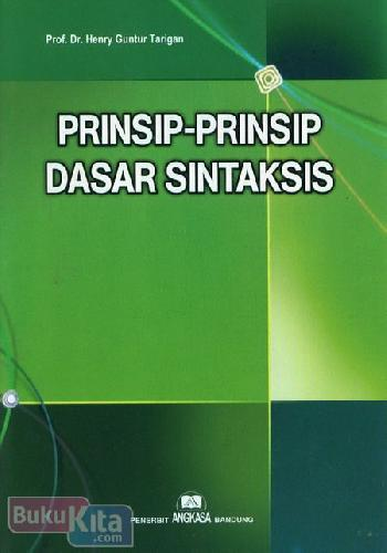 Cover Buku Prinsip-Prinsip Dasar Sintaksis