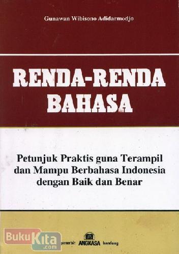Cover Buku Renda-Renda Bahasa
