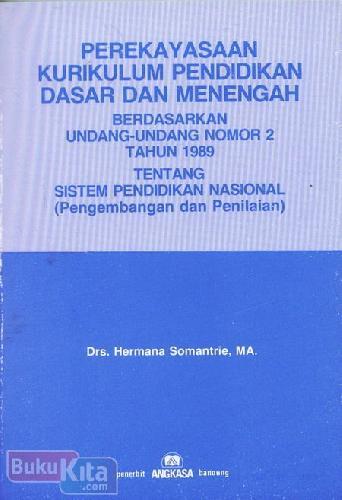 Cover Buku Perekayasaan Kurikulum Pendidikan Dasar dan Menengah