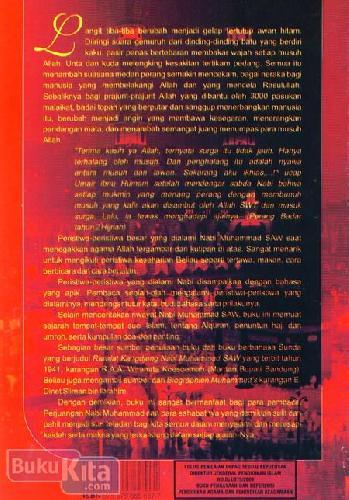 Cover Belakang Buku Riwayat Nabi Muhammad Saw dan Tempat-tempat Suci Agama Islam