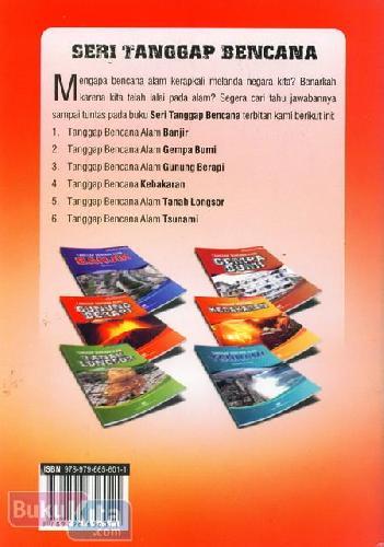 Cover Belakang Buku Tanggap Bencana Kebakaran