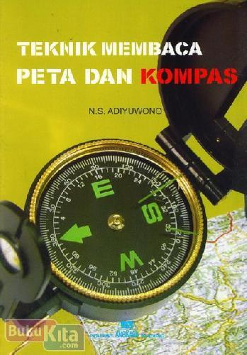 Cover Buku Teknik Membaca Peta dan Kompas