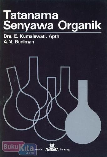 Cover Buku Tatanama Senyawa Organik