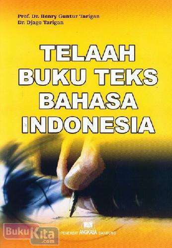 Cover Buku Telaah Buku Teks Bahasa Indonesia