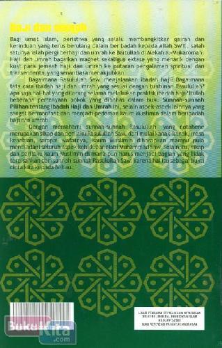 Cover Belakang Buku Sunnah-Sunnah Pilihan Haji dan Umrah
