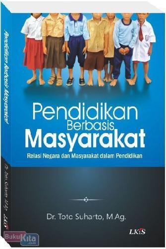 Cover Buku Pendidikan Berbasis Masyarakat
