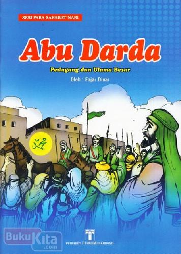 Cover Buku Abu Darda Pedagang dan Ulama Besar