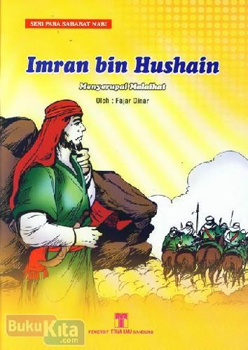 Cover Buku Imran bin Hushain Menyerupai Malaikat
