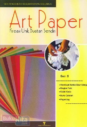 Cover Buku Art Paper : Kreasi Unik Buatan Sendiri