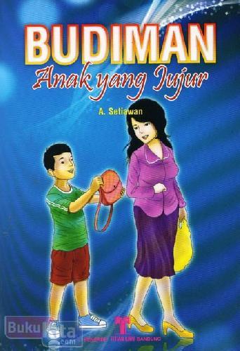 Cover Buku Budiman Anak yang Jujur