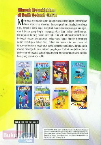Cover Belakang Buku Anak Berhati Baja