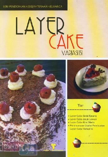 Cover Buku Layer Cake Variasi Isi