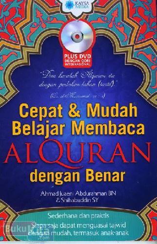 Cover Buku Cepat & Mudah Belajar Membaca AlQuran dengan Benar
