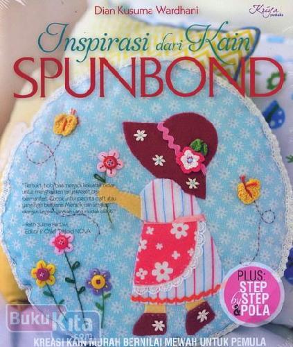 Cover Buku Inspirasi dari Kain Spundbond