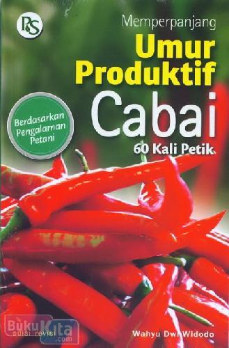 Cover Buku Memperpanjang Umur Produktif Cabai 60 Kali Petik