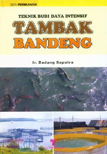Cover Buku Teknik Budi Daya Intensif : Tambak Bandeng