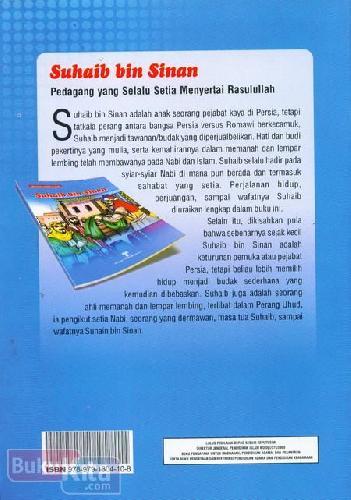 Cover Belakang Buku SuhaibbinSinan:PedagangyangSelaluSetiaMenyertaiRasulullah