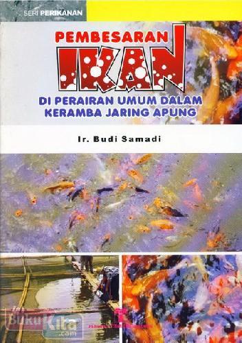 Cover Buku Pembesaran Ikan Di Perairan Umum Dalam Keramba Jaring Apung
