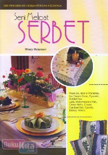 Cover Buku Seni Melipat Serbet