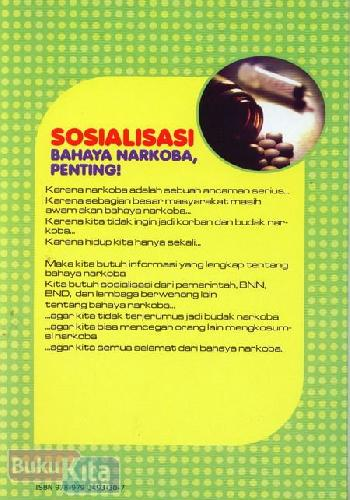 Cover Belakang Buku Seri Cerita Napza : Mutiara Bunda