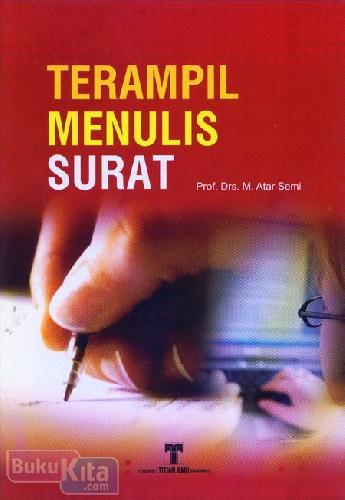 Cover Buku Terampil Menulis Surat