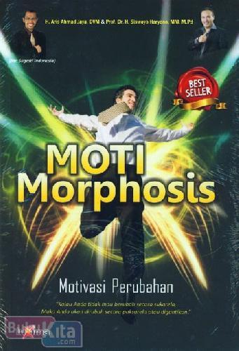 Cover Buku Moti Morphosis : Motivasi Perubahan