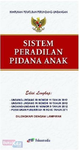 Cover Buku Sistem Peradilan Pidana Anak