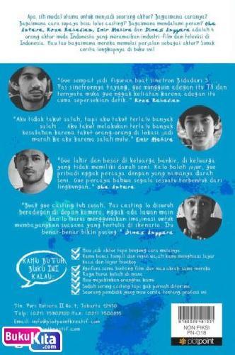 Cover Belakang Buku My Life As Actor
