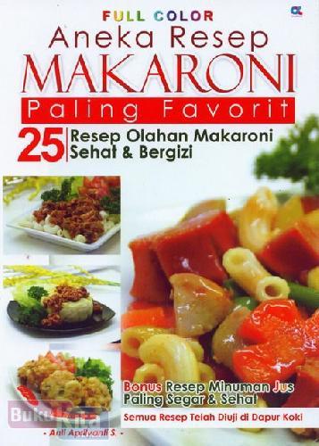 Cover Buku Aneka Resep Makaroni Paling Favorit