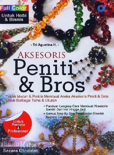 Cover Buku Aksesoris Peniti & Bros (Full Color)