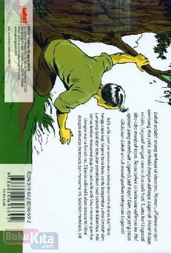 Cover Belakang Buku Lokek Serakah dan Lumpang Ajaib