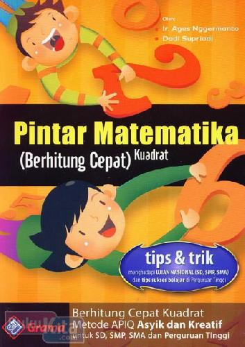 Cover Buku Pintar Matematika (Berhitung Cepat) Kuadrat