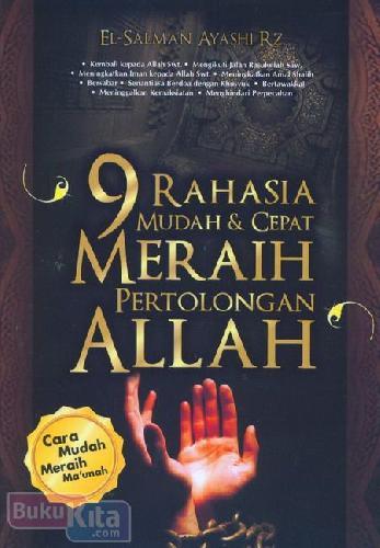 Cover Buku 9 Rahasia Mudah & Cepat Meraih Pertolongan Allah (Ramadhan_2017)