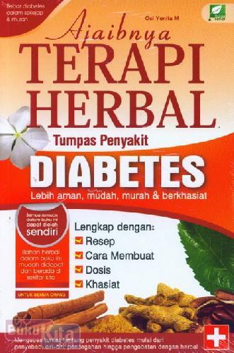 Cover Buku Ajaibnya Terapi Herbal Tumpas Penyakit Diabetes