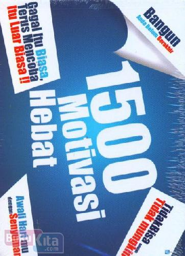 Cover Belakang Buku 1500 Motivasi Hebat