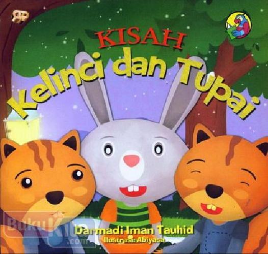 Cover Buku Kisah Kelinci dan Tupai