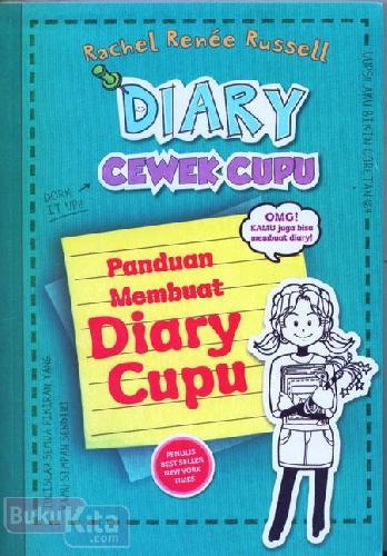 Cover Buku DIARY CEWEK CUPU 3 1/2 : Panduan Membuat Diary Cupu