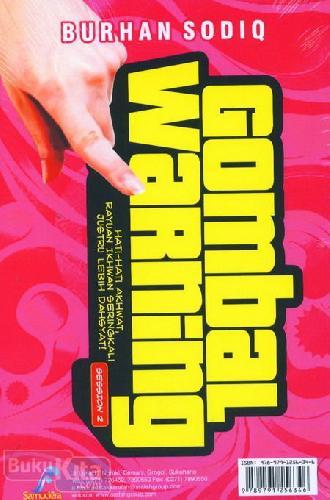 Cover Buku Session 2 Gombal Warning