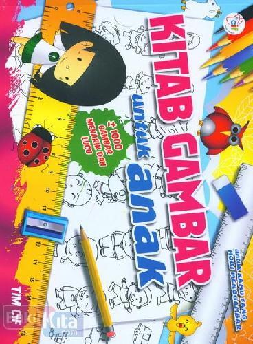 Cover Buku Kitab Gambar untuk Anak