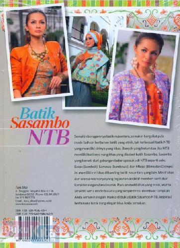 Cover Belakang Buku Batik Sasambo NTB